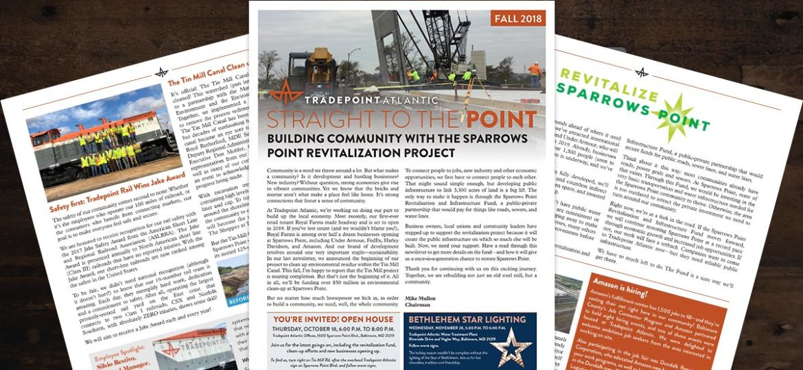 Tradepoint Atlantic Newsletter