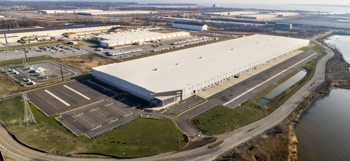 Tradepoint Atlantic Amazon Industrial Real Estate Distribution Build to Suit Baltimore